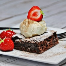 Brownies and Chocolate Fudge Pie